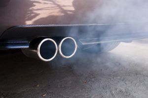 car exhaust smokey