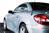 car silver convertible